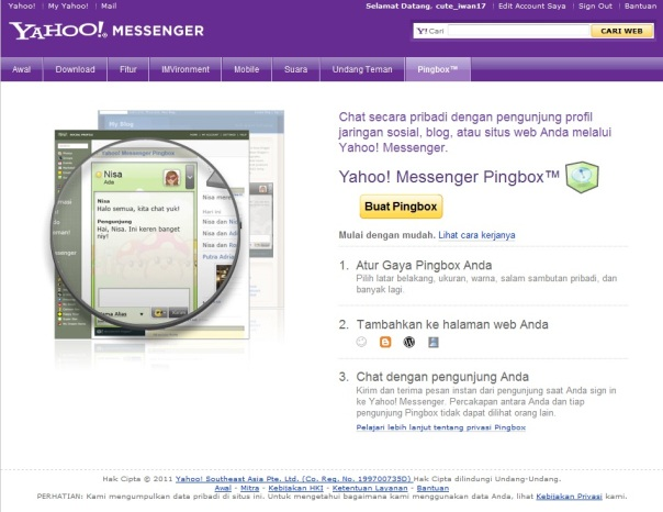 chatting yahoo